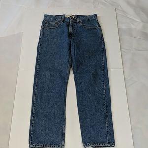 Levi's 505 regular fit medium wash jeans
